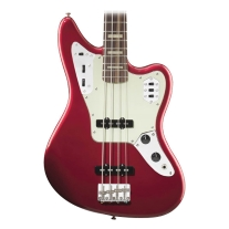 Fender Jaguar 4 String Bass in Candy Apple Red