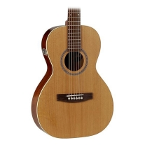 Seagull Coastline Cedar Grand (Compact Body ) w/ QI Electronics Acoustic Guitar