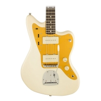 Squier J. Mascis Jazzmaster Electric Guitar Vintage White