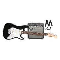 Squier Stratocaster Short Scale Strat Beginner Pack with Frontman 10G Amp