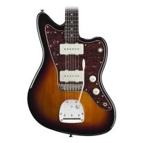 Fender Squier Vintage Modified Jazzmaster Electric Guitar in 3 Tone Sunburst
