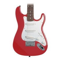 Squier By Fender Mini Stratocaster 3/4 Size Electric Guitar In Torino Red