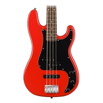Squier Affinity Series Precision Bass PJ Electric Bass In Race Red