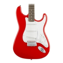 Squier Affinity Series Stratocaster Electric Guitar In Race Red