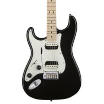 Squier Contemporary Stratocaster HH Lefty Electric Guitar in Black Metallic