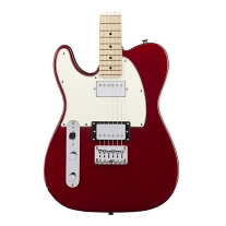 Squier Contemporary Telecaster HH Left-Handed - Dark Metallic Red