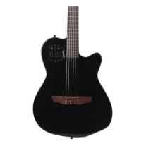 Godin Multiac Series-ACS Black Slim Guitar w/ Gig Bag