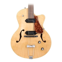 Godin 5th Avenue CW Electric Guitar (Kingpin II, Natural)