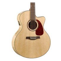 Seagull 032471 Peformer CW Mini Jumbo Flame Maple HG QI Guitar