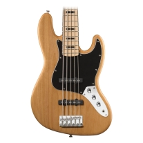 Squier Vintage Modified Jazz Bass V 5 String in Natural