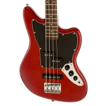 Fender Squier Vintage Modified Jaguar Short Scale Bass in Red
