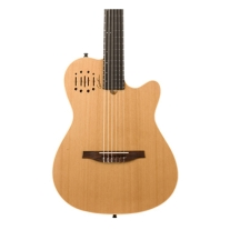 Godin Multiac Encore Nylon String Guitar in Natural Satin Gloss with Gig Bag