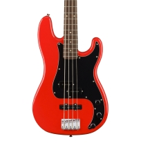 Squier Affinity Series Precision PJ Bass In Race Red