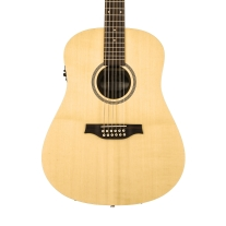 Seagull Excursion Walnut 12 SG Isys T 12-String Acoustic Guitar Natural
