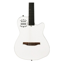 Godin ACS SA Nylon String Solidbody Guitar with Gig Bag in White