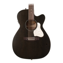 Art and Lutherie Legacy Faded Black Cutaway Guitar
