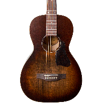 Art & Lutherie Roadhouse Parlor Bourboun Burst Acoustic-Electric Guitar
