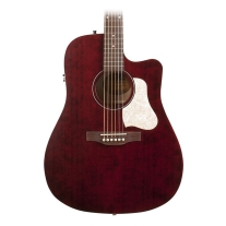 Art and Lutherie Americana Cutaway Guitar Tennessee Red