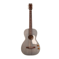 Art & Lutherie Roadhouse Parlor Acoustic Electric Guitar In Denim Blue