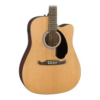 Fender FA-125CE Dreadnought Acoustic-Electric - Natural