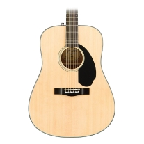 Fender CD-60S Dreadnought Acoustic Guitar - Natural Finish