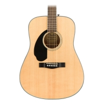 Fender Cd-60S Lh Left-Handed Acoustic Guitar Natural