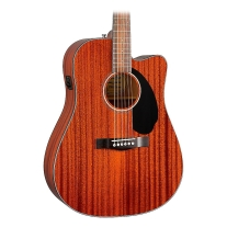 Fender Cd-60Sce All Mahogany Acoustic-Electric Guitar Natural