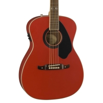 Fender Limited Tim Armstrong Hellcat Acoustic Electric Guitar in Ruby Red