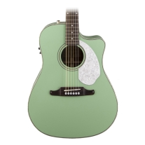 Fender® Sonoran™ SCE Cutaway Acoustic/Electric Guitar - Surf Green