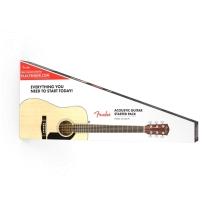 Fender CD60S Dreadnought Acoustic Pack V2 in Natural