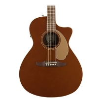 Fender Newporter Special - California Series Acoustic Guitar - Rustic Copper