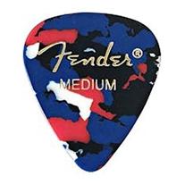 Fender 351 Shape Classic Picks (12-Pack) - Confetti Medium