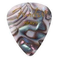 Fender 351 Shape Premium Celluloid Picks - Heavy Abalone 12-Pack