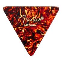 Fender 355 Sharp Triangle Shell Guitar Picks - 12-Pack - Medium