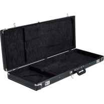 Fender Standard Black Strat/Tele Case Black Lining