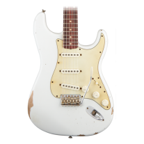 Fender Road Worn 60's Stratocaster Olympic White Electric Guitar