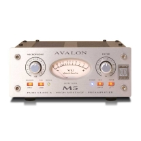 Avalon M5 Pure Class A Microphone Preamplifier - Silver