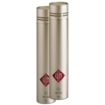 Neumann Skm 184 Small Diaphragm Condenser Microphone Pair - Satin