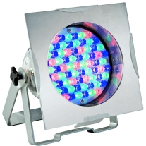 American DJ 38p LED Pro Polished DMX LED Par 38 with Dual Bracket