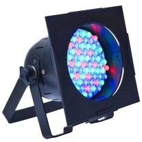 American DJ 38b LED Pro Polished DMX LED Par 38 with Dual Bracket