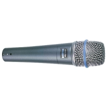 Shure Beta 57A Supercardioid Dynamic Microphone