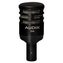 Audix D6 Dynamic Instrument Microphone