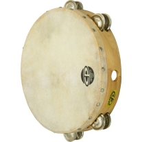 Latin Percussion CP380 Tambourine 10' Double Row