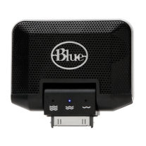 Blue Mikey Ipod Recording Microphone with Speaker