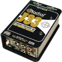 Radial J33 Riaa Turntable Preamp Direct Box