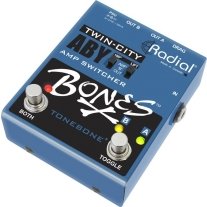 Radial Bones R800-7115 Twin City A-B-Y Footswitch