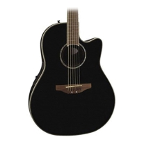 Ovation Celebrity CC24 Mid Depth Acoustic/Elec Guitar in Black
