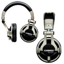 Shure SRH750 Professional Stereo DJ Headphones