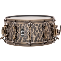 Mapex Black Panther Series Sledgehammer Hammered Brass Snare Drum 6.5x14