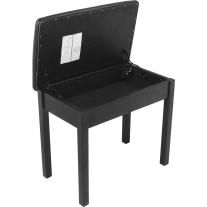 On Stage KB8902 Flip Top Keyboard Bench in Black